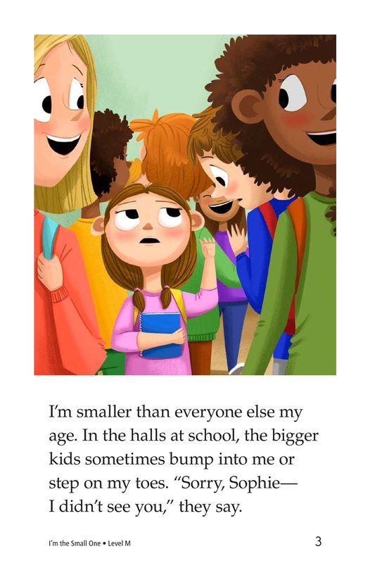 Book Preview For I'm the Small One Page 3