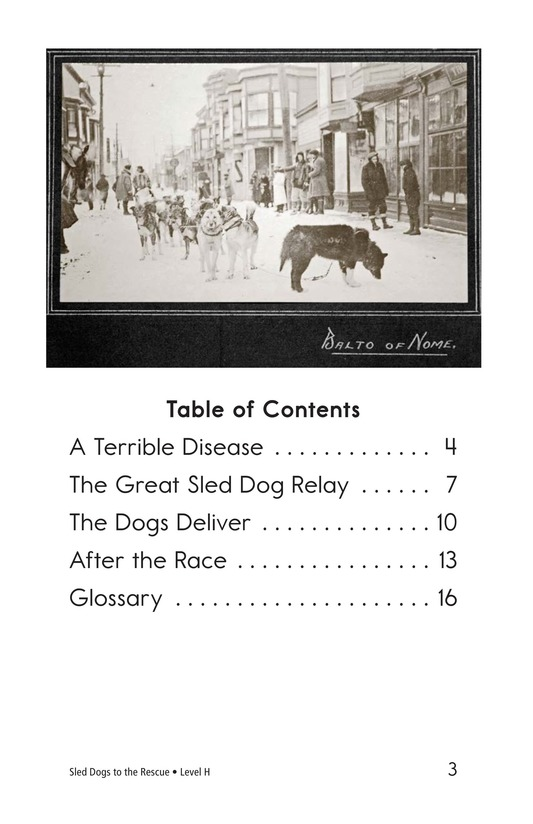 Book Preview For Sled Dogs to the Rescue Page 3