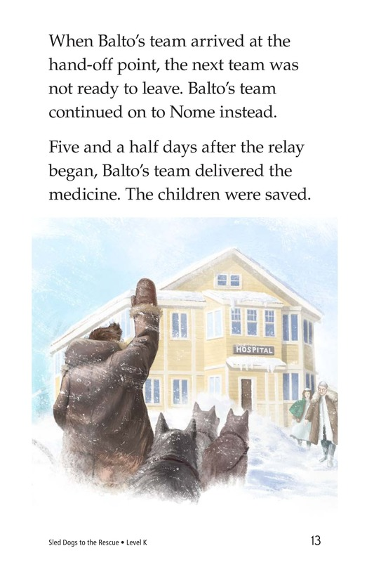 Book Preview For Sled Dogs to the Rescue Page 13