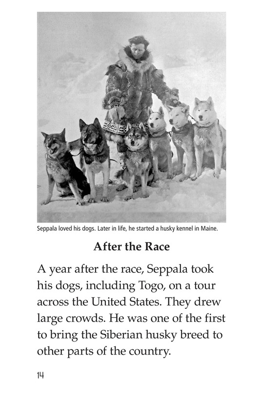 Book Preview For Sled Dogs to the Rescue Page 14