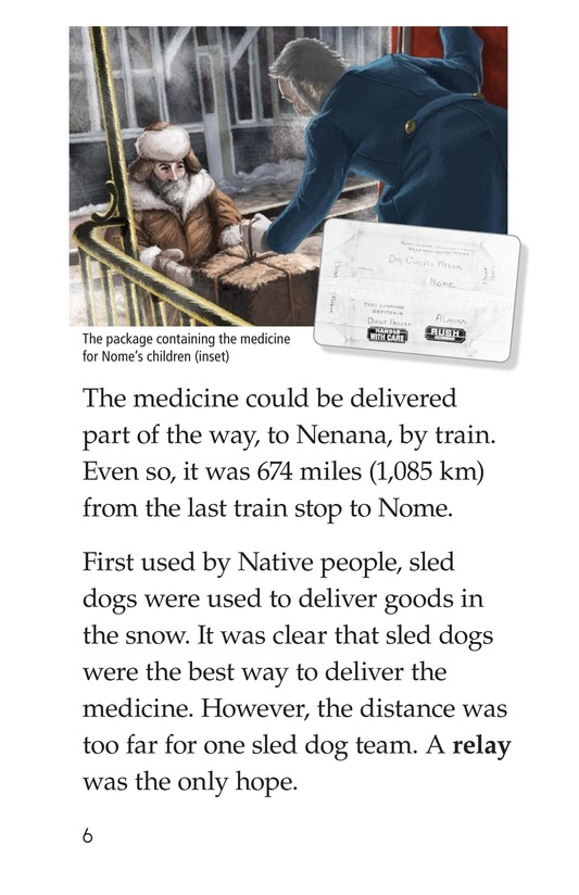 Book Preview For Sled Dogs to the Rescue Page 6