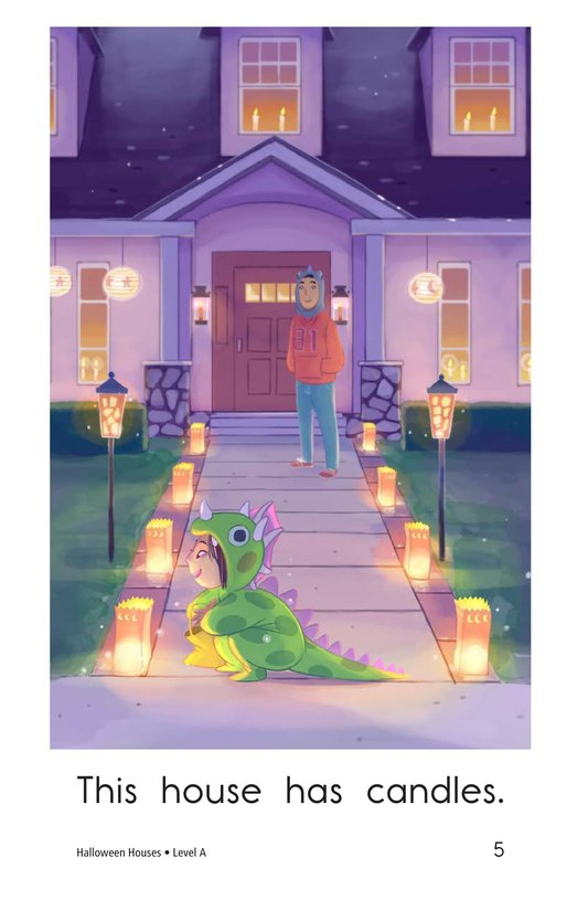 Book Preview For Halloween Houses Page 5