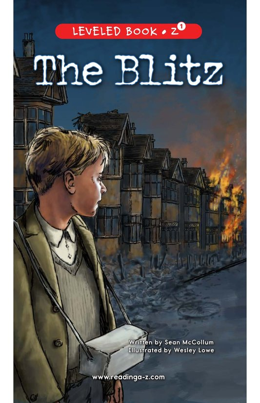 Book Preview For The Blitz Page 0