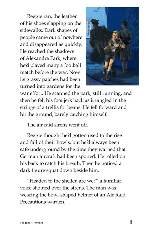 Book Preview For The Blitz Page 11