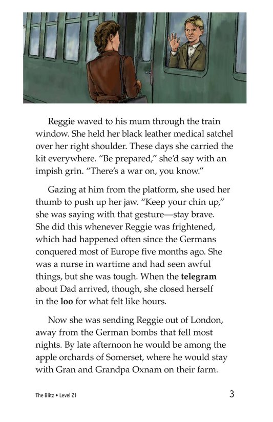 Book Preview For The Blitz Page 3