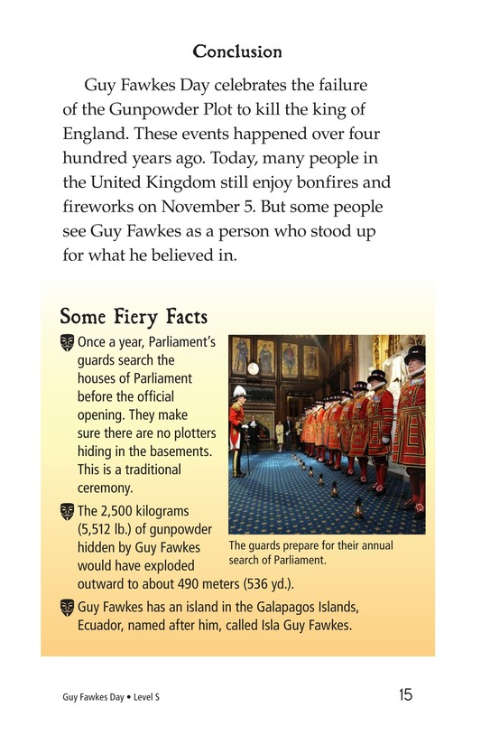 Book Preview For Guy Fawkes Day Page 15