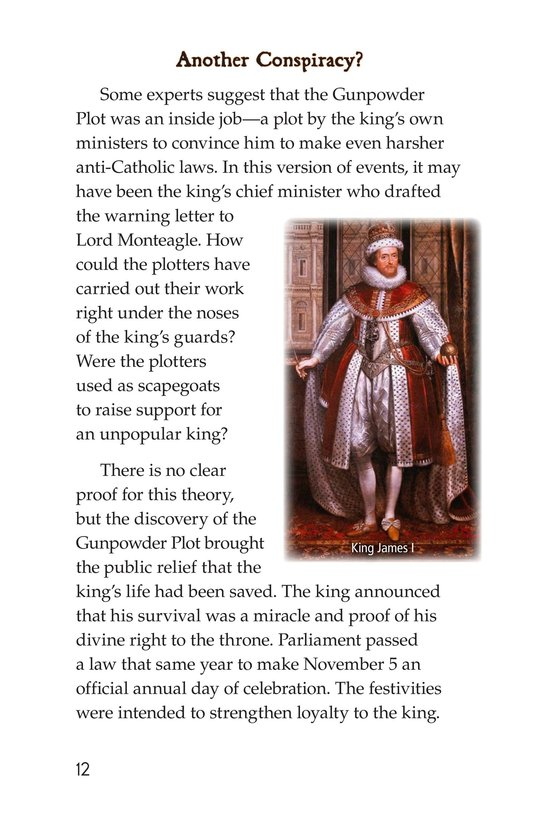 Book Preview For Guy Fawkes Day Page 12