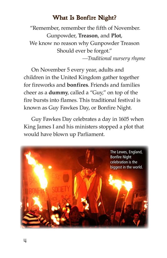 Book Preview For Guy Fawkes Day Page 4