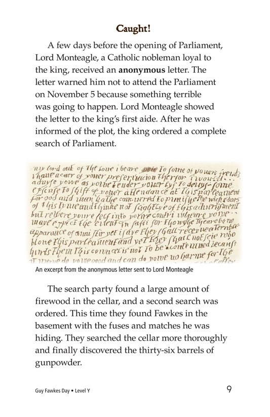 Book Preview For Guy Fawkes Day Page 9