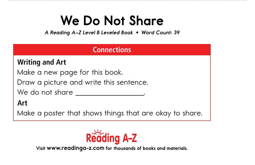 Book Preview For We Do Not Share Page 11