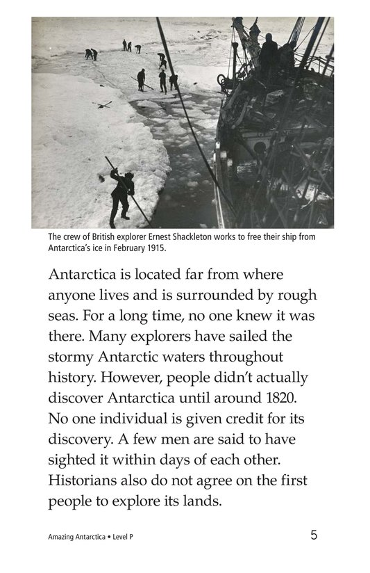 Book Preview For Amazing Antarctica Page 5