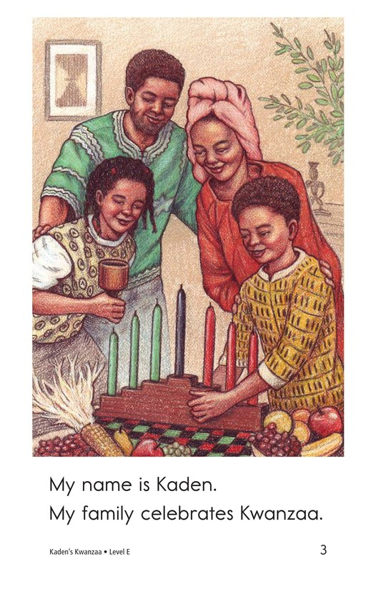 Book Preview For Kaden's Kwanzaa Page 3