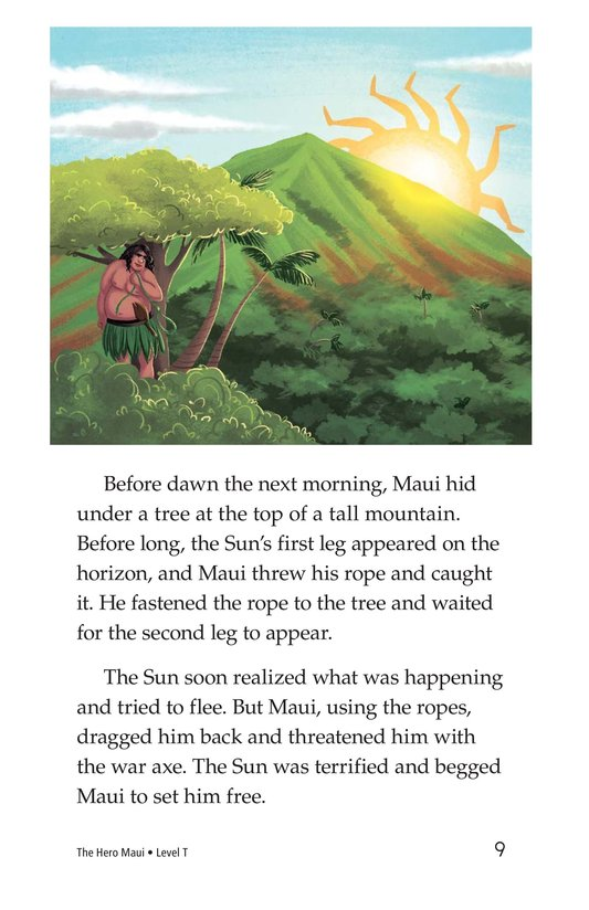 Book Preview For The Hero Maui Page 9