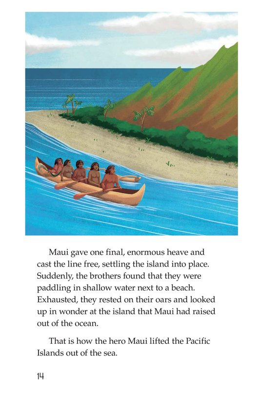Book Preview For The Hero Maui Page 14