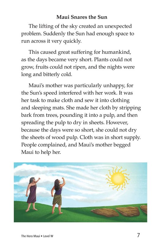 Book Preview For The Hero Maui Page 7