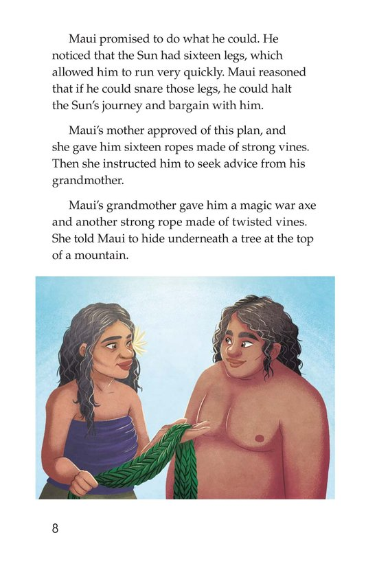 Book Preview For The Hero Maui Page 8
