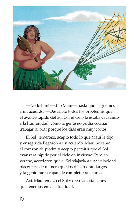Book Preview For The Hero Maui Page 10