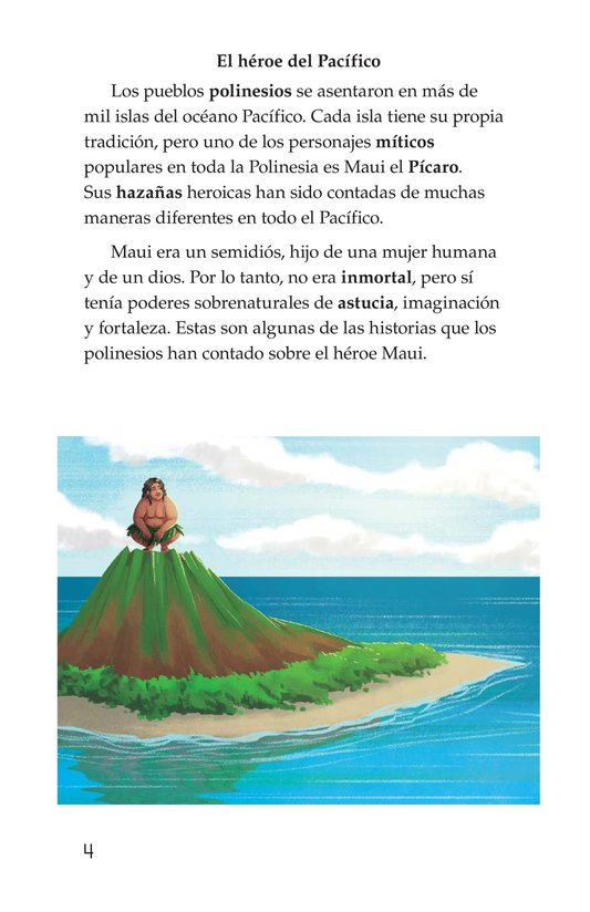 Book Preview For The Hero Maui Page 4