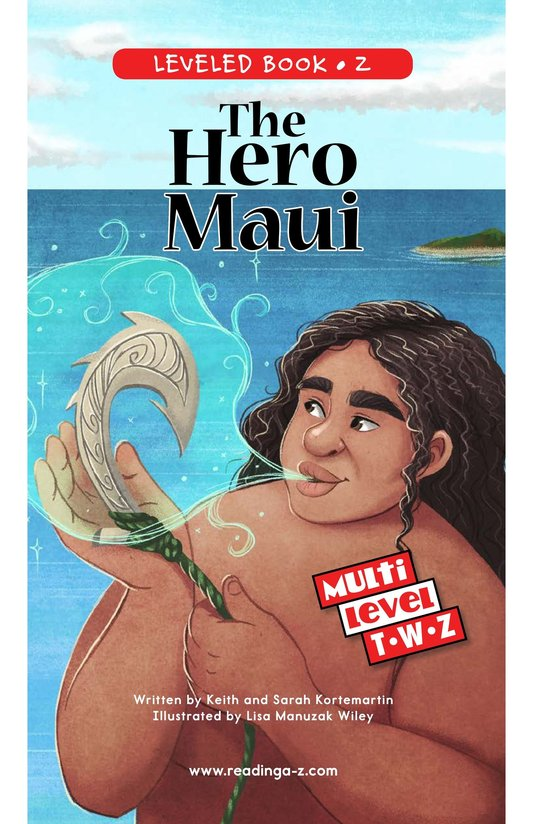 Book Preview For The Hero Maui Page 0