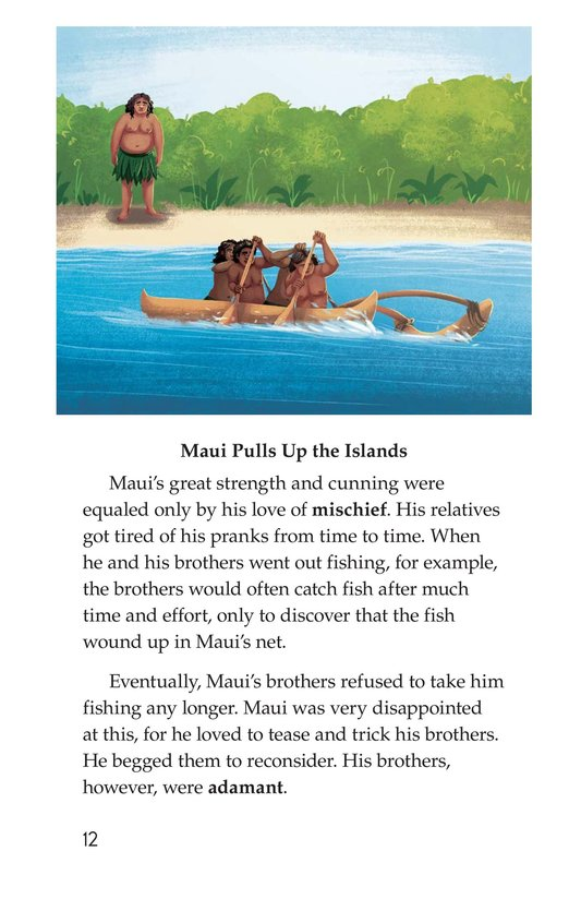 Book Preview For The Hero Maui Page 12