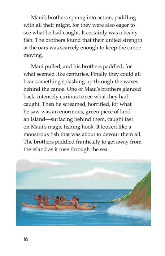 Book Preview For The Hero Maui Page 16