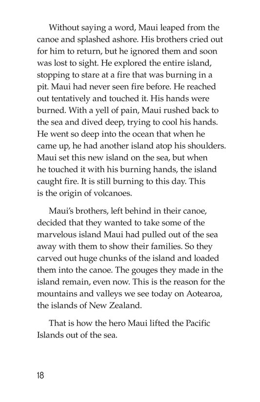 Book Preview For The Hero Maui Page 18