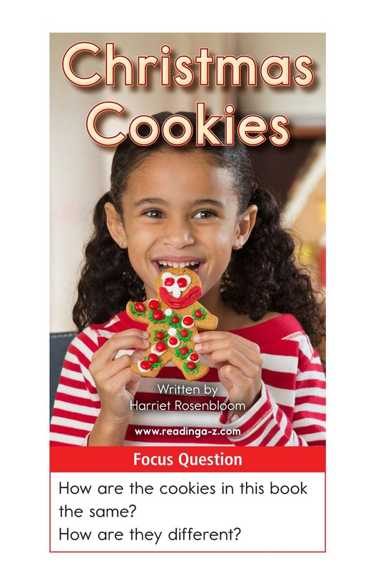 Book Preview For Christmas Cookies Page 1