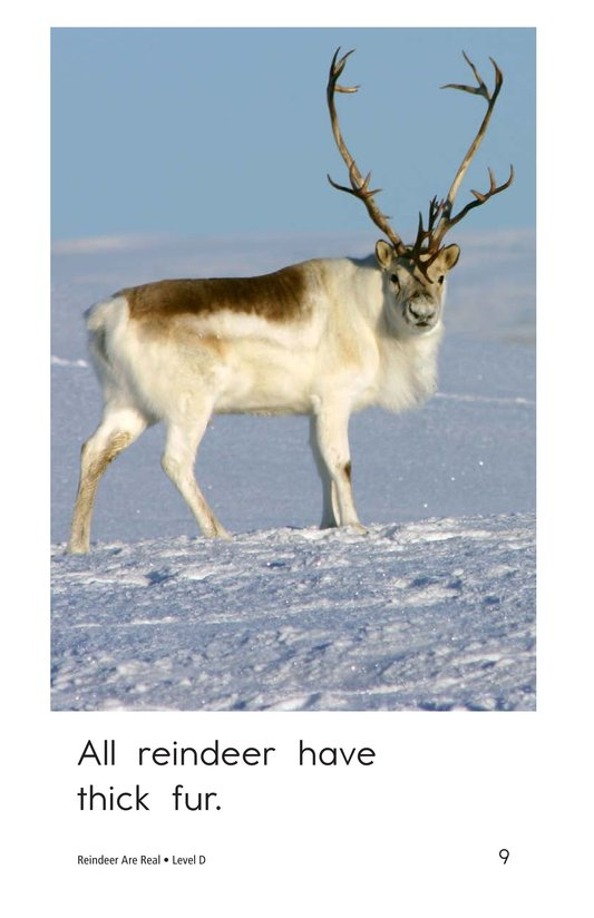 Book Preview For Reindeer Are Real Page 9