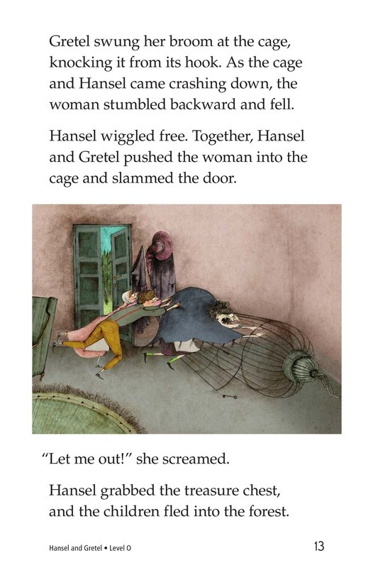 Book Preview For Hansel and Gretel Page 13