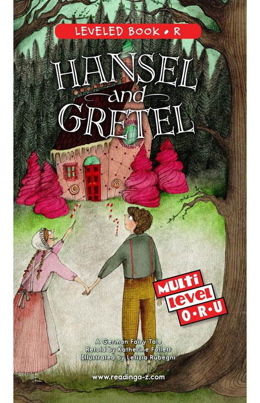 Book Preview For Hansel and Gretel Page 0