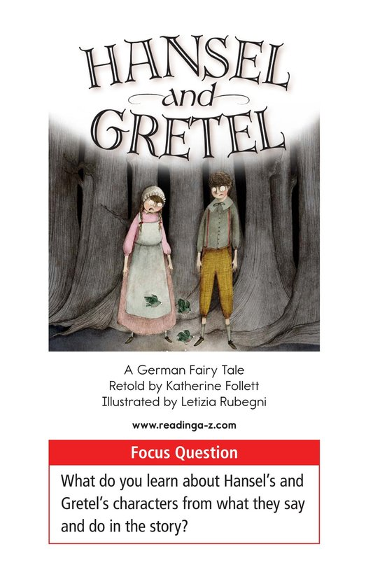 Book Preview For Hansel and Gretel Page 1