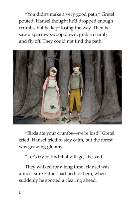 Book Preview For Hansel and Gretel Page 6