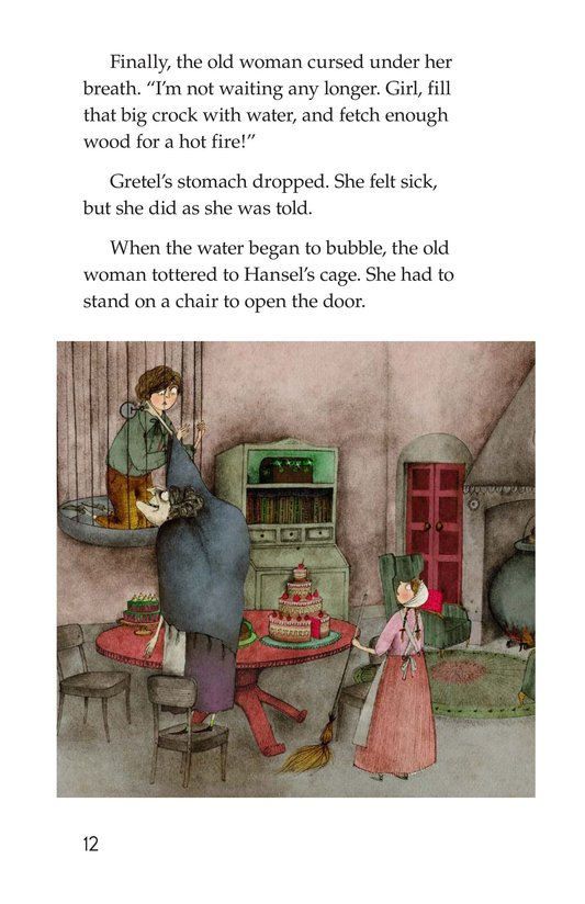 Book Preview For Hansel and Gretel Page 12