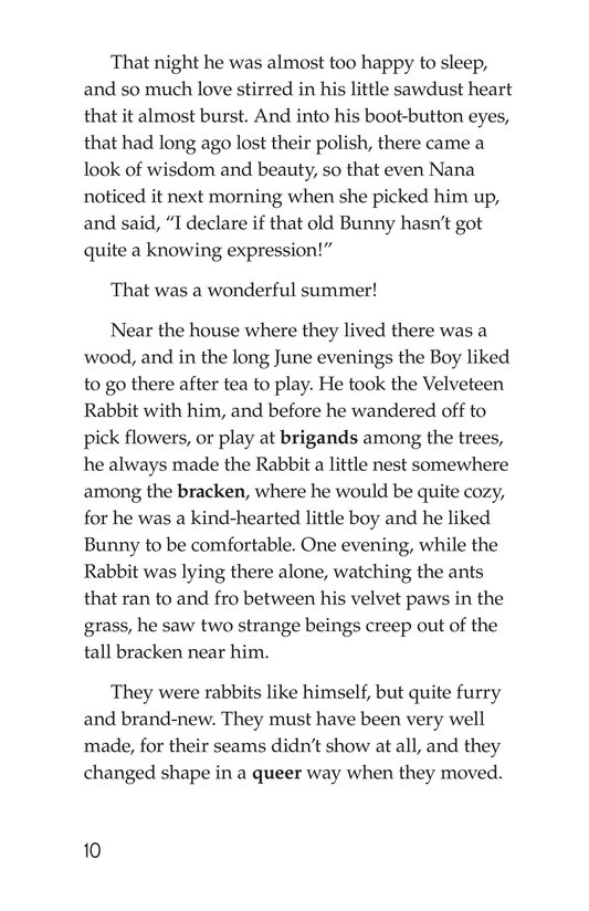 Book Preview For The Velveteen Rabbit Page 10