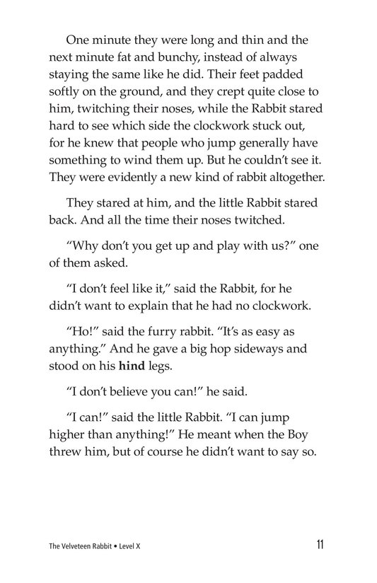 Book Preview For The Velveteen Rabbit Page 11