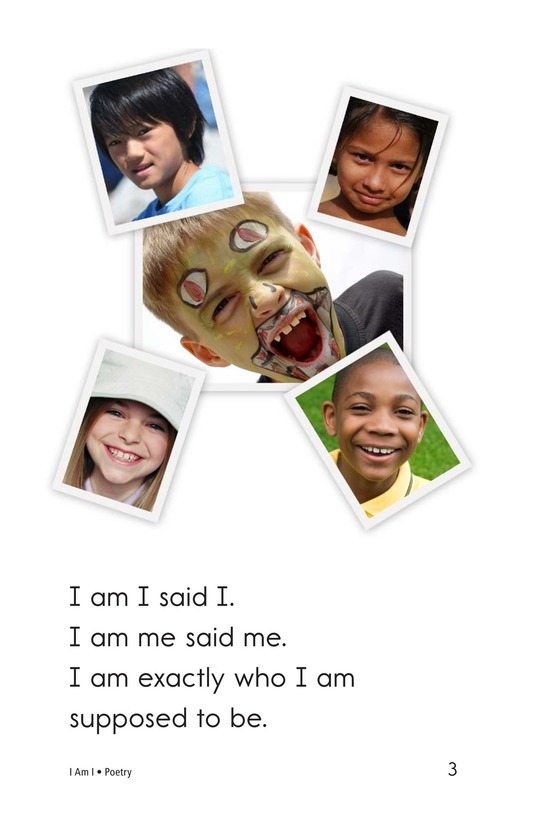Book Preview For I Am I Page 3