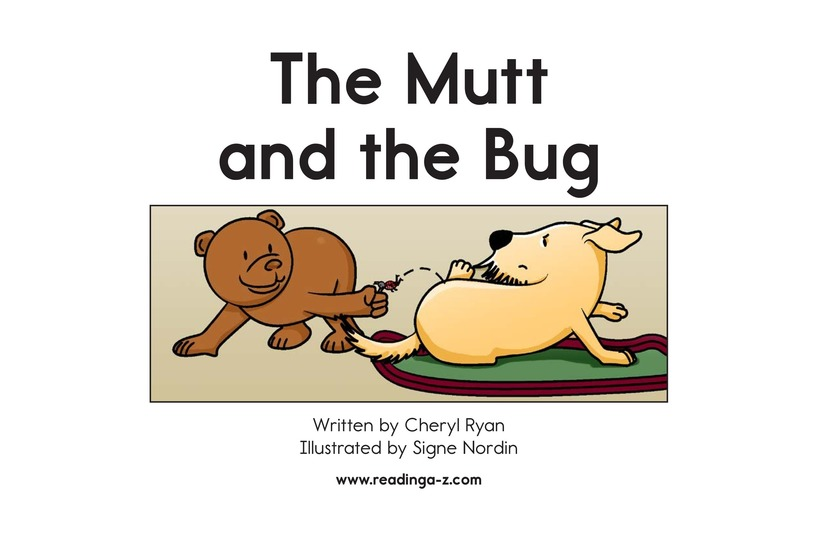 Book Preview For The Mutt and the Bug Page 2