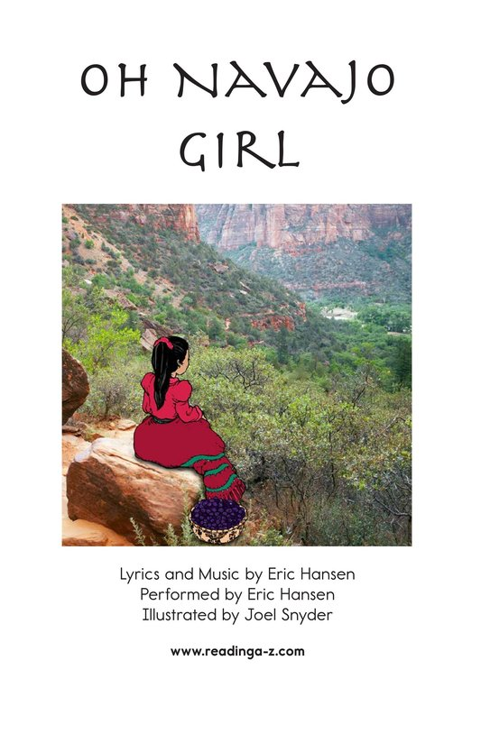 Book Preview For Oh Navajo Girl Page 2