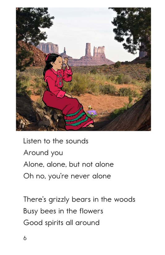 Book Preview For Oh Navajo Girl Page 6