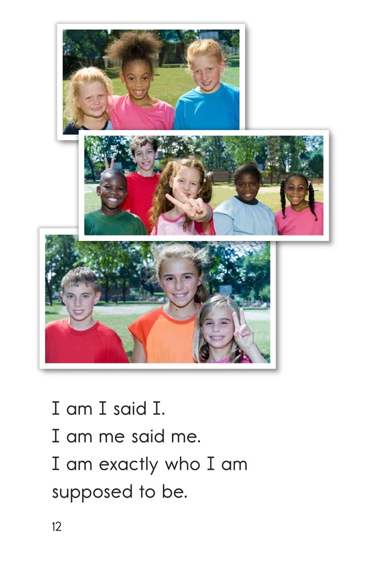 Book Preview For I Am I Page 12