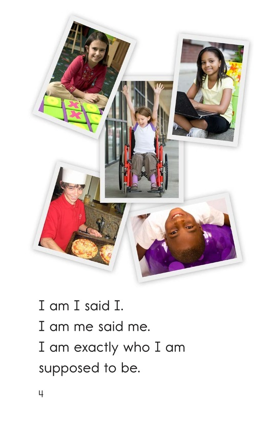 Book Preview For I Am I Page 4