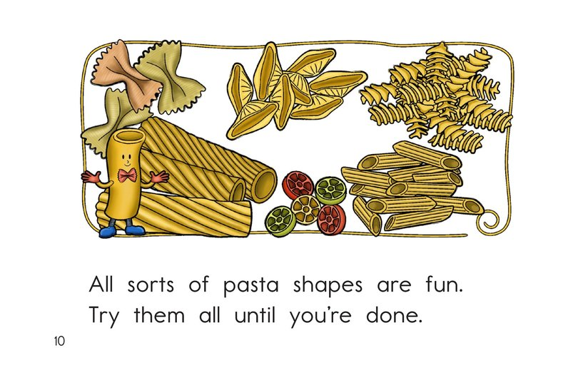 Book Preview For Lotsa Pasta Page 10
