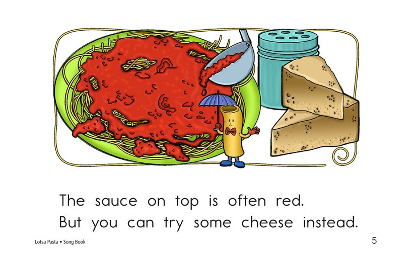 Book Preview For Lotsa Pasta Page 5