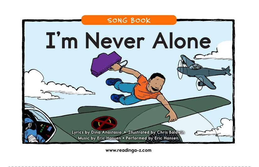 Book Preview For I'm Never Alone (Song) Page 1