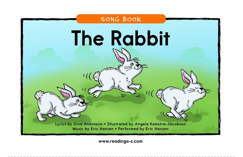 Book Preview For The Rabbit Page 1