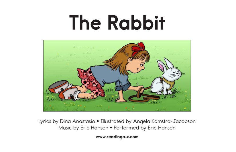 Book Preview For The Rabbit Page 2