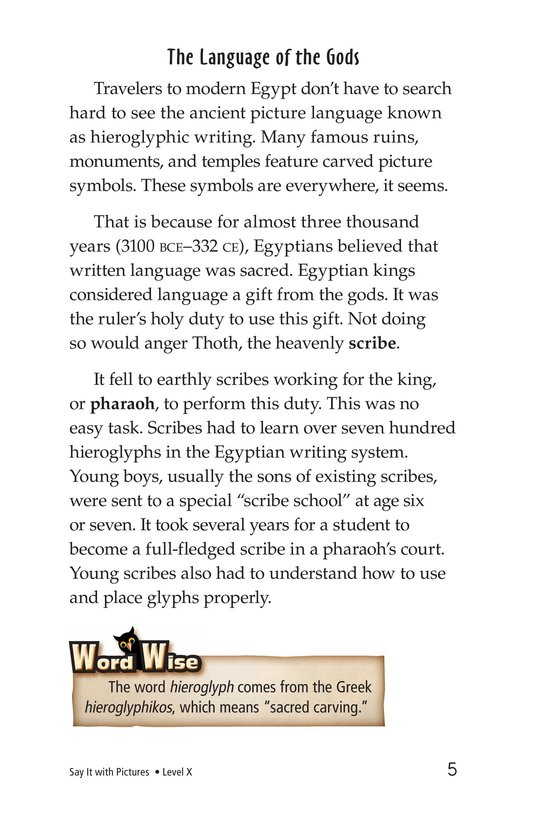 Book Preview For Say It With Pictures Page 5
