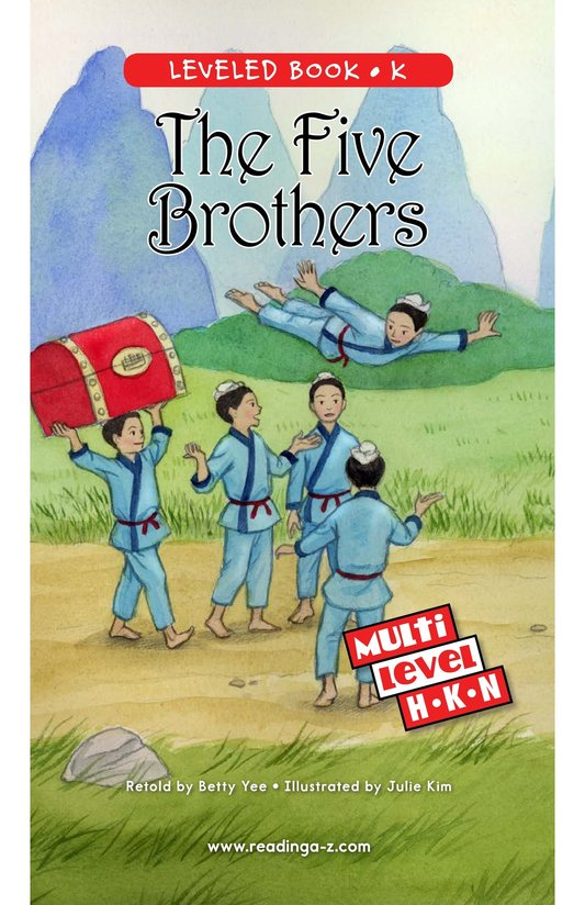 Book Preview For The Five Brothers Page 0
