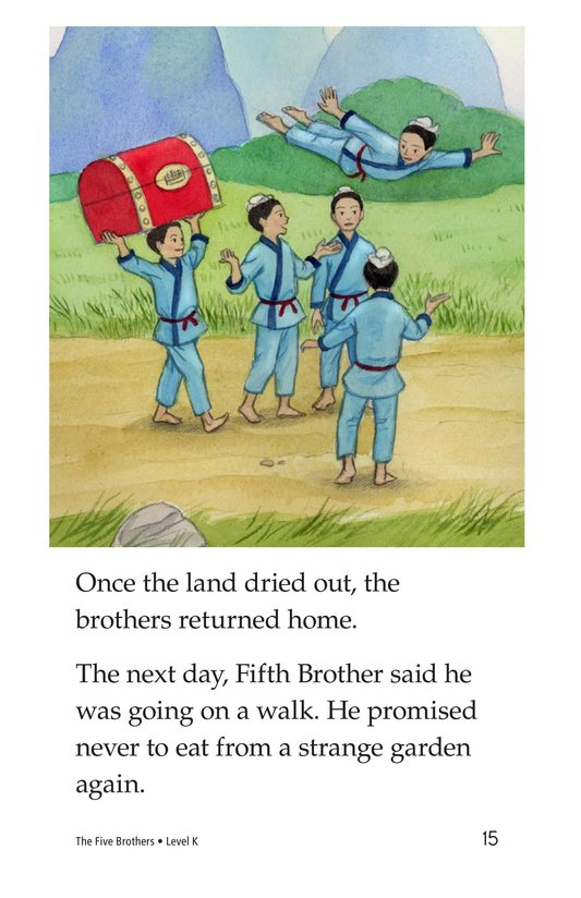 Book Preview For The Five Brothers Page 15