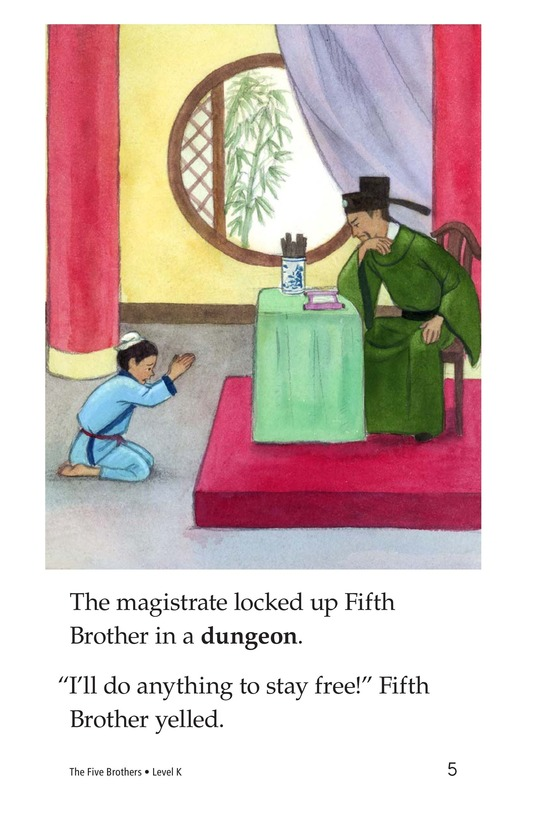 Book Preview For The Five Brothers Page 5